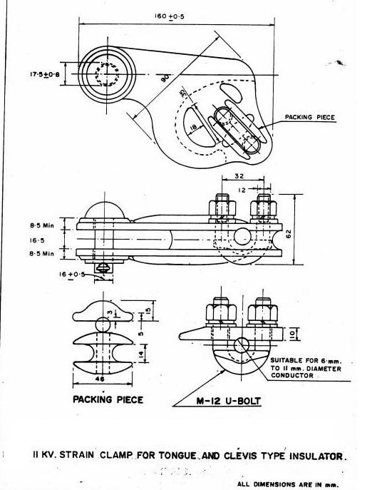 11kv 415v overhead line specification(rec) electrical notes \u0026 articles