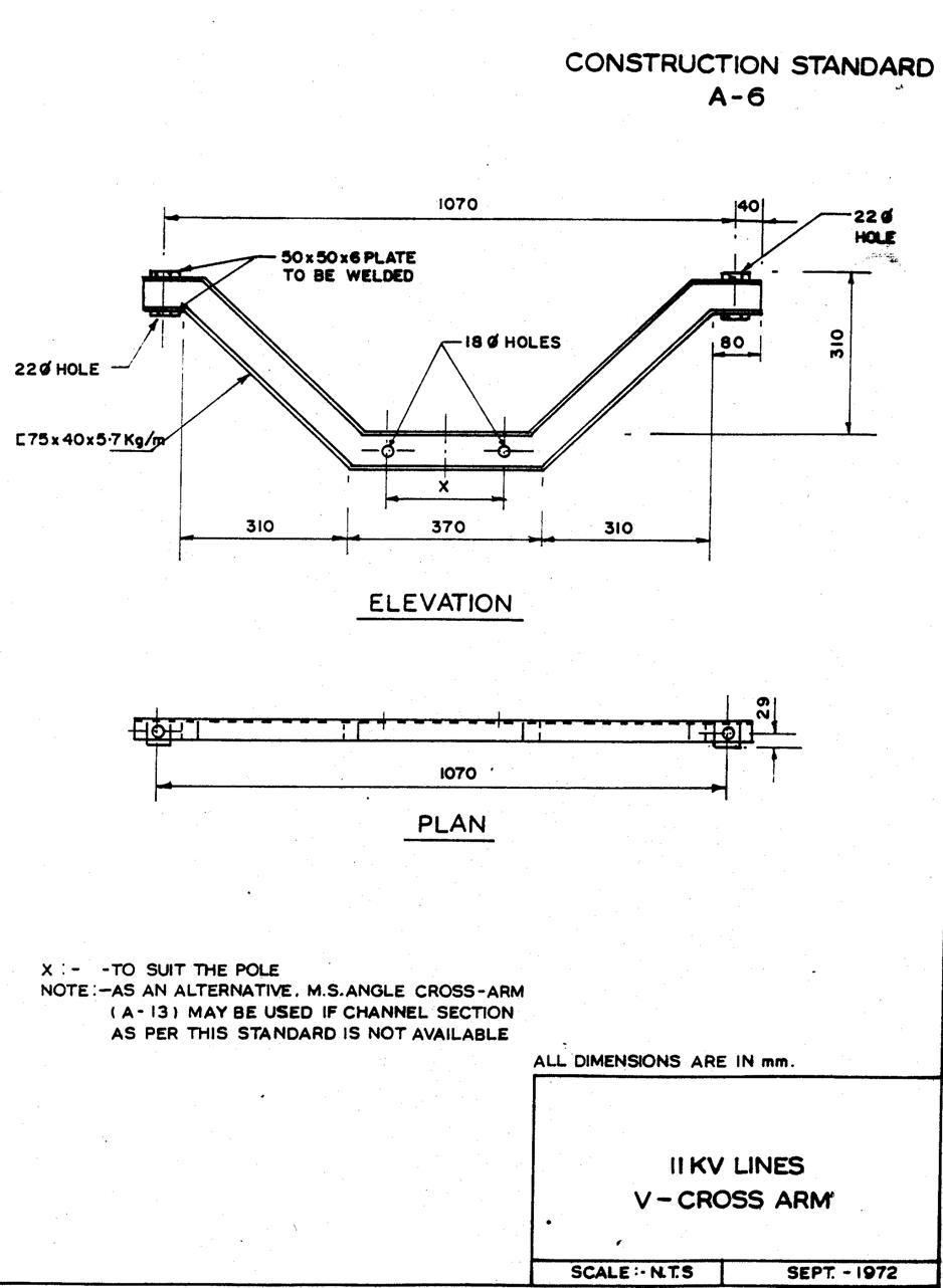 11kv 415v overhead line specification rec electrical notes articles rh electricalnotes wordpress com