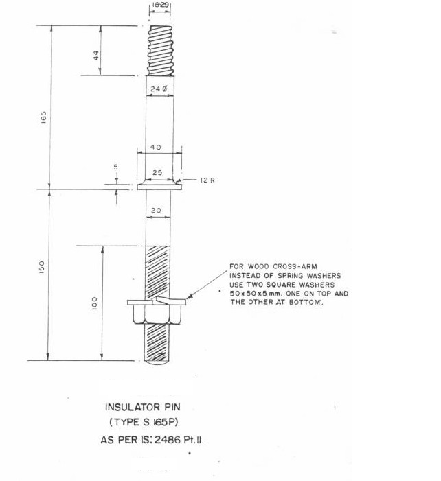 11kv 415v overhead line specification(rec) electrical notes \u0026 articles415v Overhead Line Specificationrec Electrical Notes Articles #4