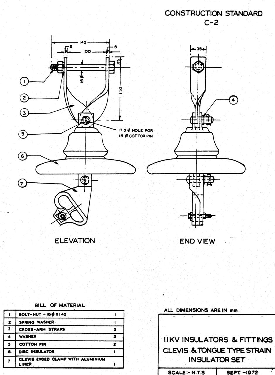 11kv 415v overhead line specification(rec) electrical notes \u0026 articles415v Overhead Line Specificationrec Electrical Notes Articles #20