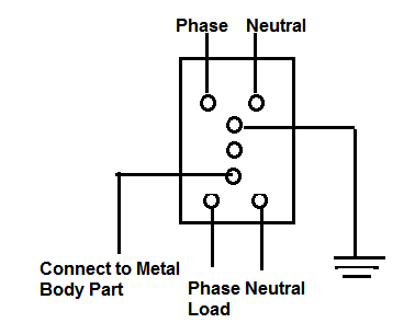 working principle of elcb and rcb electrical notes articles rh electricalnotes wordpress com Wiring a GFCI Circuit Breaker circuit diagram for elcb