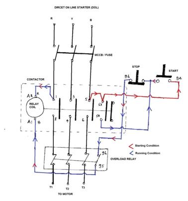 dol wiring diagram