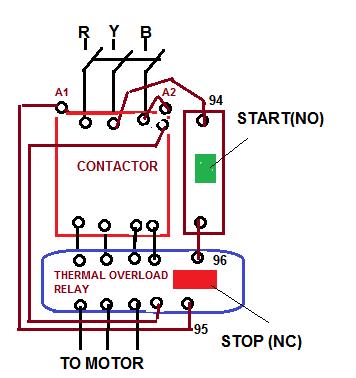 Dol starter wiring diagram wiring diagram direct online starterdol electrical solution and switchgear volvo penta starter wiring diagram dol starter wiring diagram ccuart Images