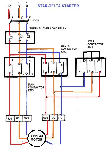 dol starter circuit diagram motor dol image wiring wiring diagram dol motor starter jodebal com on dol starter circuit diagram motor