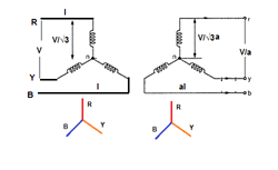 star star connection of transformer electrical notes \u0026 articles(1) star star(y y)connection