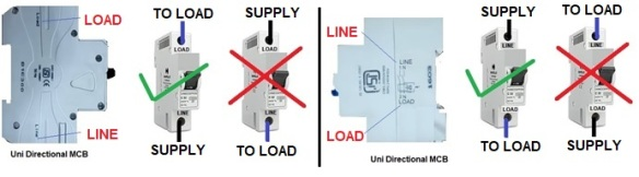 What is Correct Method of MCB Connections   Electrical Notes ... Home Wiring Mcb Connection on